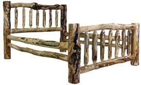 Cabin Bed Frame King Log Bed Frame Log Bed Frames Cabin Beds King Size Log Beds