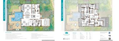 6 Bedroom Floor Plans Floor Plans Sanctuary Falls Jumeirah Golf Estates Villas For