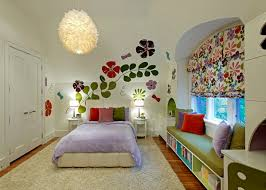 bedroom wall mural ideas make the most out of girls bedroom ideas with floral wall mural