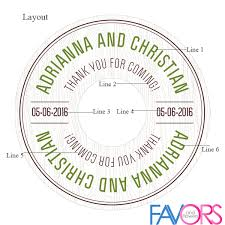 labels for wedding favors woodland personalized wedding cd labels 6 pcs musical theme