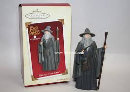 hallmark 2005 gandalf the grey ornament the lord of the rings