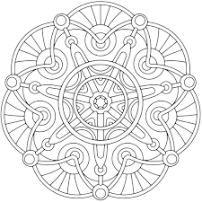geometric pattern coloring pages for adults photo 646749