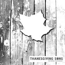thanksgiving song single by the pepper tree market on apple