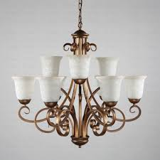 Dining Room Chandeliers Lowes by Chandelier Stained Glass Flush Mount Ceiling Light Dining Room