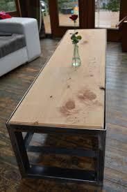 Table Acier Bois Industriel by Die Besten 25 Meuble Tv Style Industriel Ideen Auf Pinterest Tv