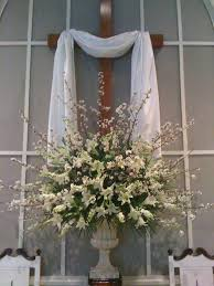 Easter Decorations At Church by Easter Church Arrangements Church Flowers Churches And Easter