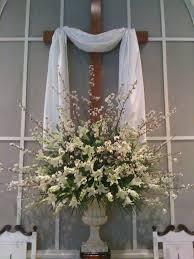 easter church arrangements church flowers churches and easter