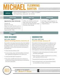 contemporary resume header and footer 52 best contemporary resumes images on pinterest resume ideas