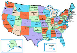 canada states map dogfriendly united states and canada rv park and cground