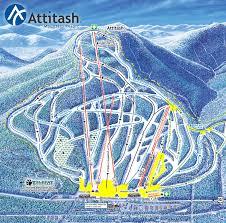 Pictures Of Maps Trail Maps Attitash Mountain Ski Area