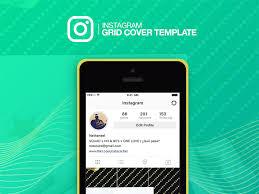 download instagram layout app instagram grid cover template freebie download photoshop resource