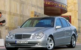 mercedes e class 2005 mercedes e class sedan 2002 2006 reviews technical data prices