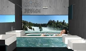 glasbilder für badezimmer glasbilder bad haus ideen