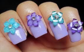25 extraordinary nail art with 3d bows u2013 slybury com