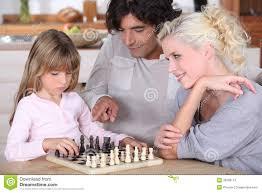family chess stock photos image 35509113