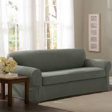 amazon com maytex pixel stretch 2 piece sofa slipcover dark