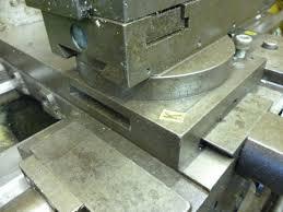 making a rotary table rotary table making circular t slots john f s workshop