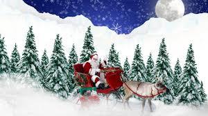 winter reindeer moon navidad trees snow land feliz