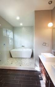 bathroom freestanding tubs with lighting lamp wall and small