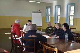 multi agency training camp bere island civil defence