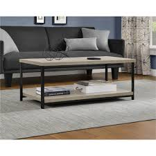 ameriwood furniture elmwood coffee table weathered oak