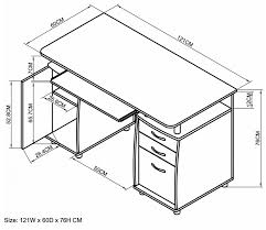 Office Furniture Components by Delectable 20 Office Desk Sizes Design Ideas Of Desk Dimensions