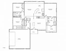 3 bedroom house plans with basement house plan luxury ranch house plans with basement 3 car gara
