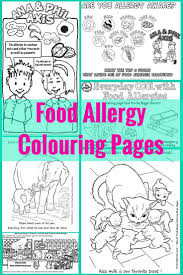 23 best food allergy colouring pages images on pinterest food