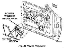 2001 dodge dakota window regulator replace power window regulator 1999 dodge dakota power window