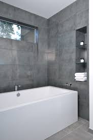 Gray Floor Bathroom - bathed in color when to use gray in the bath