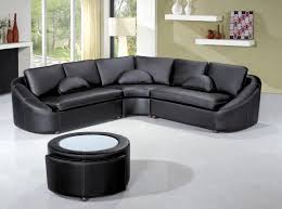 Modern Leather Sectional Couch Casa 2224 Modern Bonded Leather Sectional Sofa