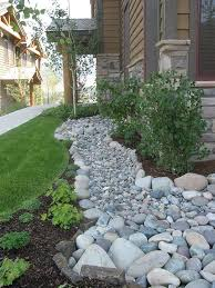 Fake Rocks For Landscaping by Best 25 Yard Drainage Ideas On Pinterest Drainage Solutions