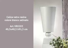 vaso resina bianco vetroresina bianco satinato 40x40 h91 cm vasi resina