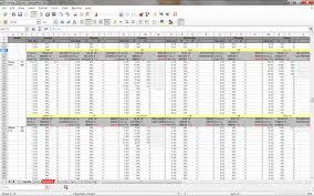 Workout Excel Spreadsheet Excel Training Planner Setark0s