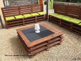 fabriquer canapé d angle en palette fabriquer canape d angle en palette emejing salon de jardin palette