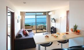chambre des m騁iers ajaccio résidence les calanques appartement 1 chambre vue mer séjour