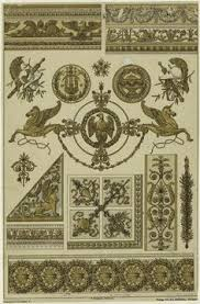 empire style designs and ornaments joesph beunat charles