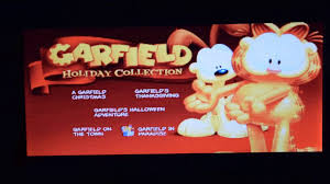 thanksgiving garfield garfield holiday collection dvd menu walkthrough movie opening
