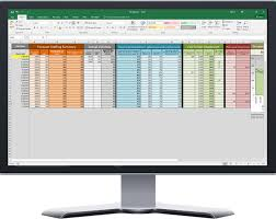 Scheduling Spreadsheet Contact Center Capacity Plan Spreadsheet Excel Based