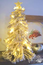 how to make a christmas tree shaggy style country design style