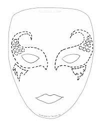 printable lizard mask template face masks templates
