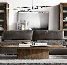 restoration hardware bedside table ls maxwell leather sofa