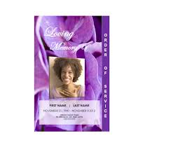 downloadable funeral program templates 2 page graduated floral 1 funeral phlets
