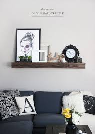 Wood Wall Shelf Designs by Best 25 Floating Shelves For Tv Ideas On Pinterest Floating Tv