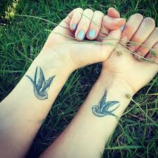 Cool Sparrow - best tattoos for bffs