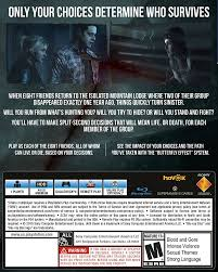 how much will a ps4 be on black friday on amazon amazon com until dawn playstation 4 sony computer entertainme