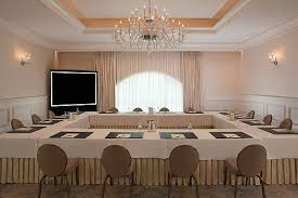 Square Boardroom Table Table Set Up For Meetings Orlando Kissimmee Meeting Space Rental