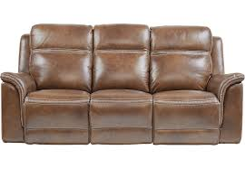 Reclining Leather Armchair Affordable Brown Leather Sofas Rooms To Go Furniture