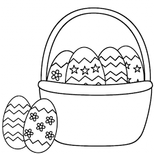 easter basket drawing drawing art gallery