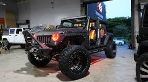 4 door jeep wrangler jacked up the miami tuners responsible for yoenis céspedes u0027 wildest rides